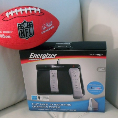 Energizer Flat Panel 4x Induction Wireless Charging Station for Wii Remote