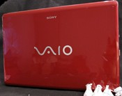 Sony VAIO CW Series Notebook PC top