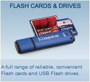 Kingston Flash Cards & Drives