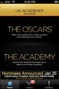 The Oscars iPad - iPhone app