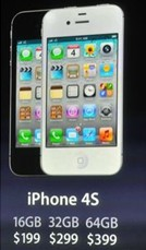 Apple iPhone 4s Pricing