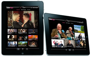 Iplayer to watch TV on Tablet PC