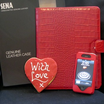 Sena Leather Cases for iPad2 & iPhone 4/4s