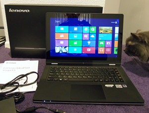 Lenovo Yoga 13 whats in the box