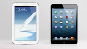 Apple iPad Mini Vs Samsung Galaxy Tab 3