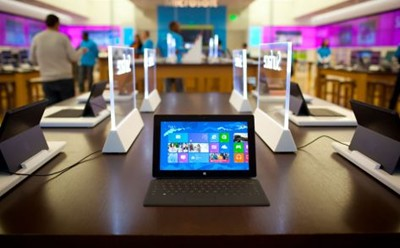 Surface at the Microsoft Store