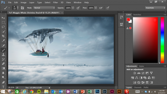 Photoshop for Surface Pro 3