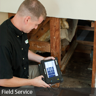 Mobile Demand Rugged Tablet PC for Field Service