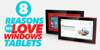 Why we love windows tablets