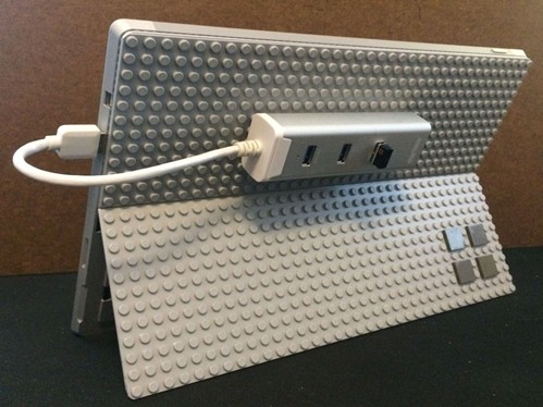 Lego to the Surface Pro 3