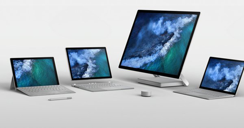 Microsoft Surface Computers 2017
