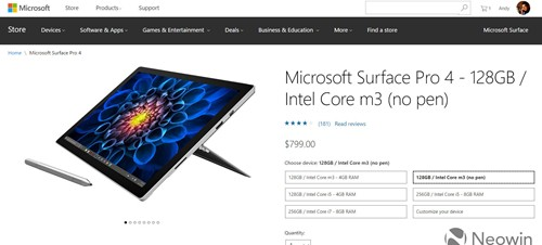 Surface no pen