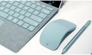 Surface Pro 'Aqua' colored accessories