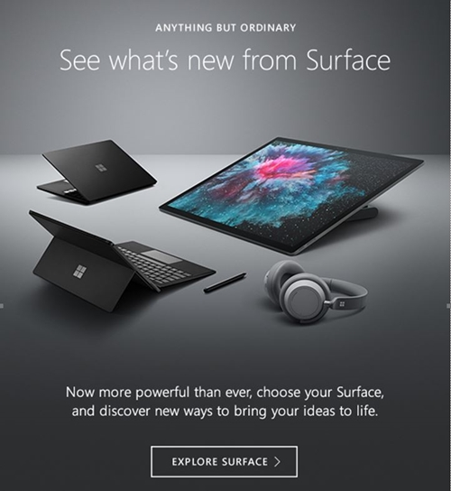 New Microsoft Surface Devices