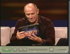 Corbin Bernsen using the MobileDemand xTablet Tablet PC