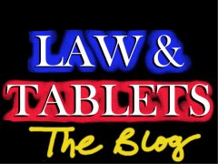 Law & Tablets BLog