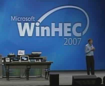 Bill Gates WinHec 2007