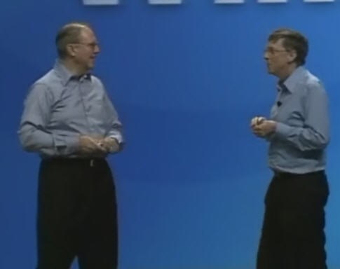 Bill G and Craif M from Microsoft
