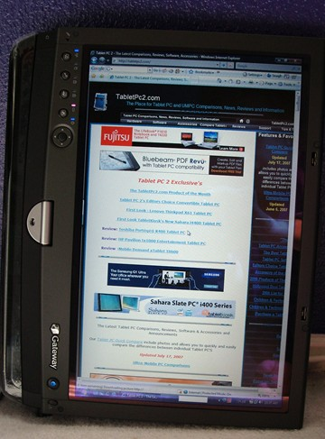 Tablet PC 2 on Gateway Tablet PC