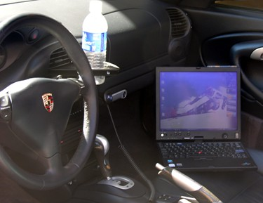 X60 Tablet PC in Porsche