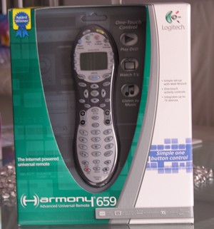 Review-Logitech Harmony 659 Advanced Universal Remote