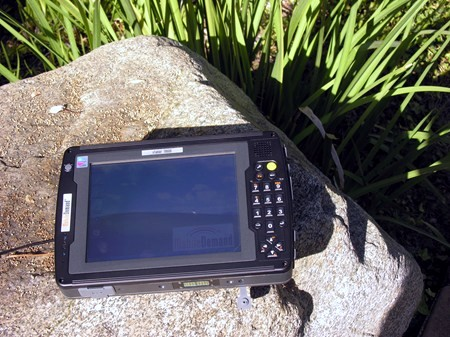 Mobile Demand Tablet PC outdoors