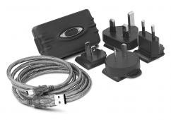 Oakley Wall charger and international adapters