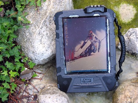 OtterBoc Tablet PC Case in Stream