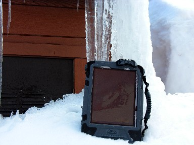 OtterBOx in Snow