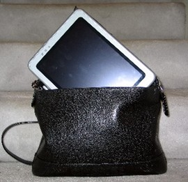 TabletPC in Chanel bag